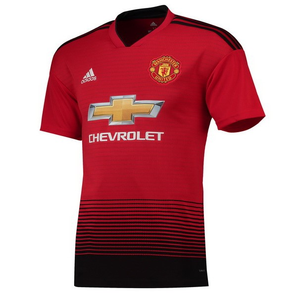 Maillot Manchester United Domicile 2018-19 Rouge