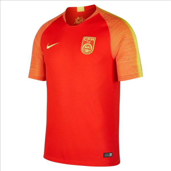Maillot Chine Domicile 2018 Rouge