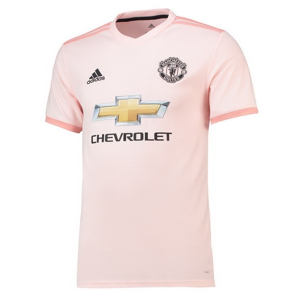 Maillot Manchester United Thailande Exterieur 2018-19 Rose
