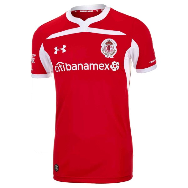 Maillot Deportivo Toluca Domicile 2018-19 Rouge