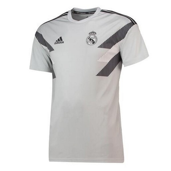 Maillot Entrainement Real Madrid Gris 2018-19