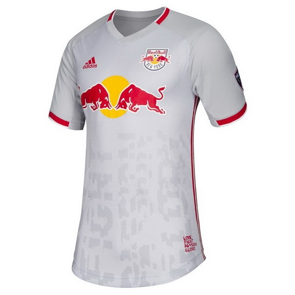 Maillot Red Bulls Domicile 2019-20 Blanc