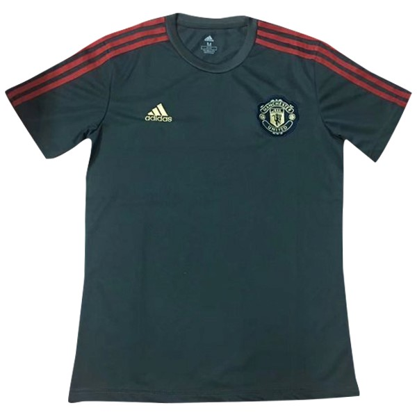 Entrainement Manchester United 2019-20 Gris Marine