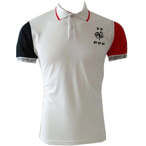 Polo France 2019 Blanc Rouge
