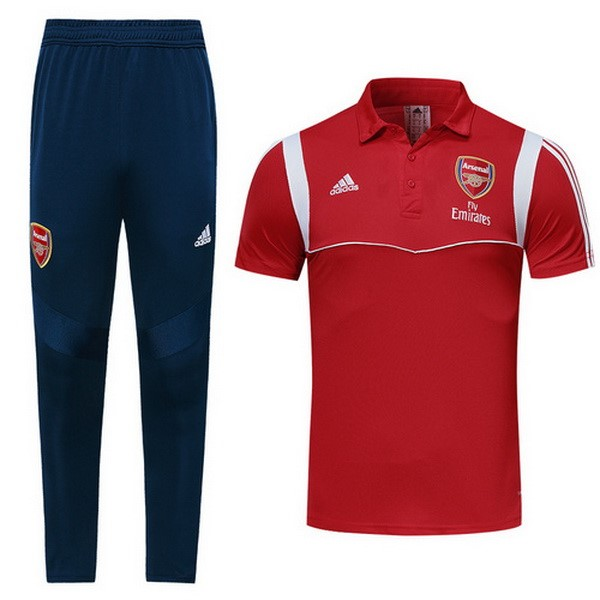 Polo Ensemble Complet Arsenal 2019-20 Rouge