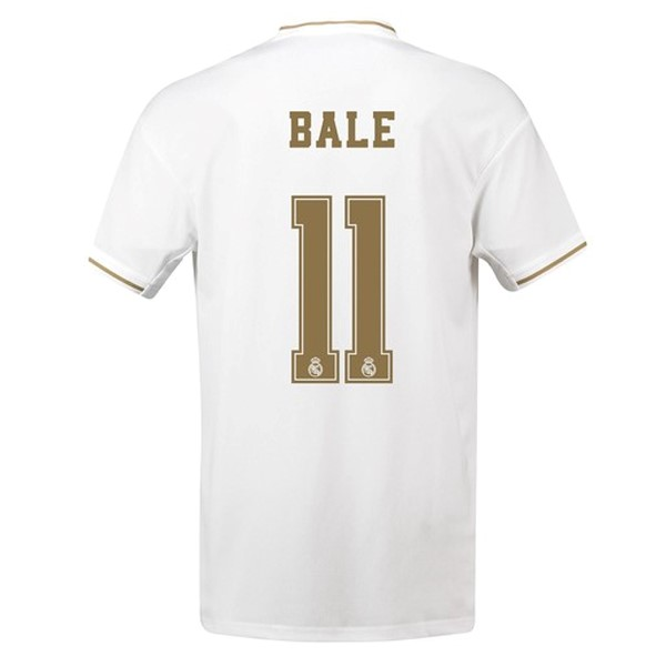 Maillot Real Madrid NO.11 Bale Domicile 2019-20 Blanc