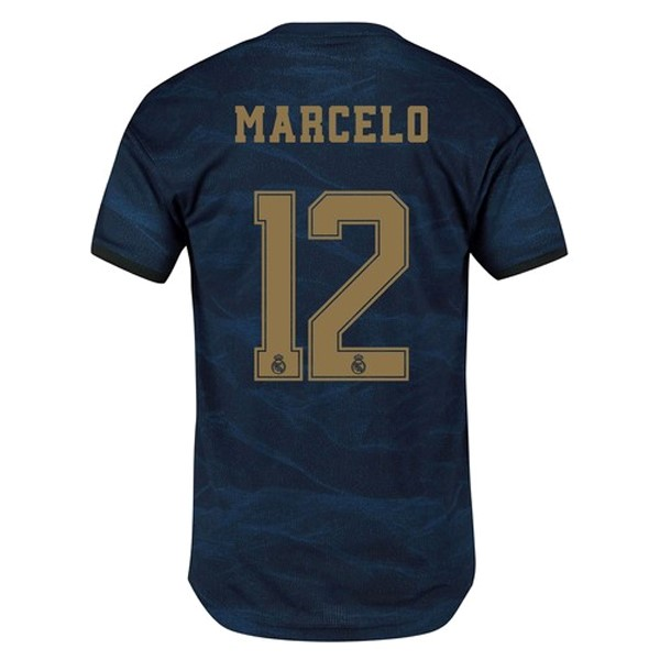 Maillot Real Madrid NO.12 Marcelo Exterieur 2019-20 Bleu