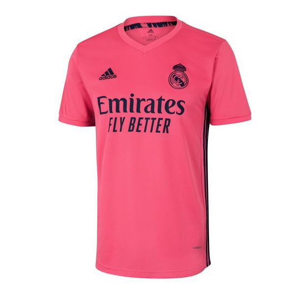 Maillot Real Madrid Exterieur 2020-21 Rose