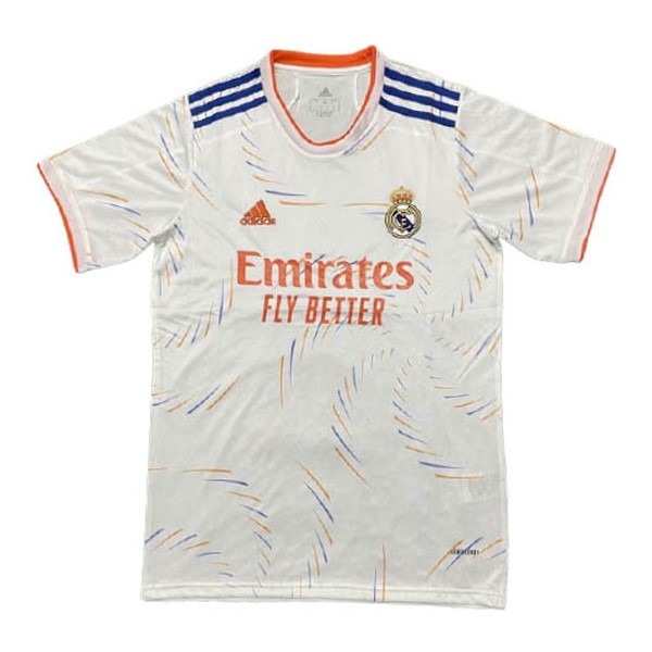 Thailande Maillot Real Madrid Domicile Concept 2021 2022 Blanc