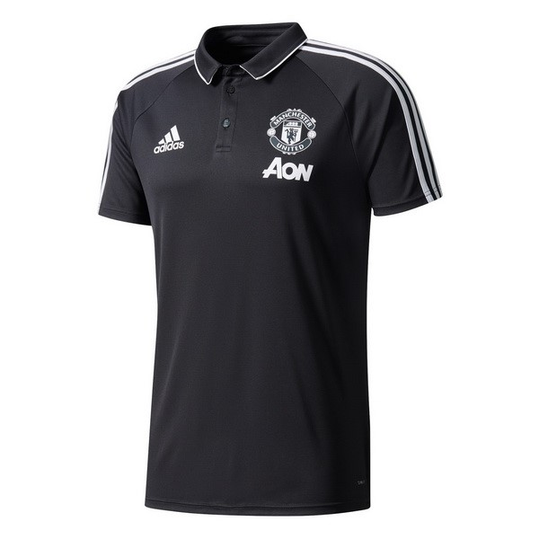 Polo Manchester United 2017-18 Noir