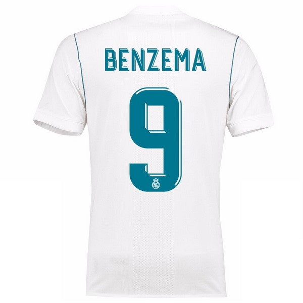 Maillot Real Madrid Domicile Benzema 2017-18