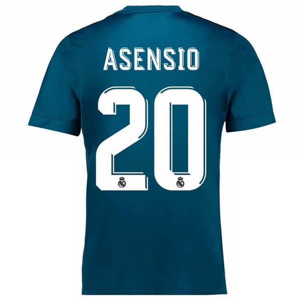 Maillot Real Madrid Third Asensio 2017-18