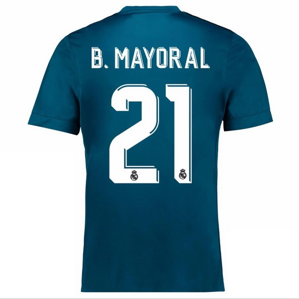 Maillot Real Madrid Third B.Mayoral 2017-18