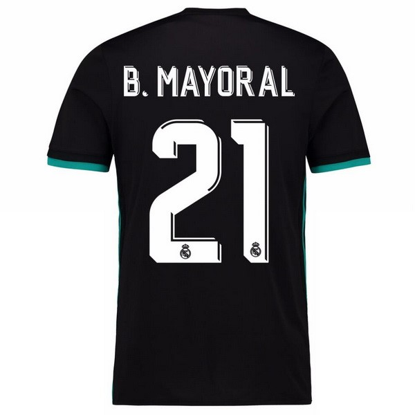Maillot Real Madrid Exterieur B.Mayoral 2017-18