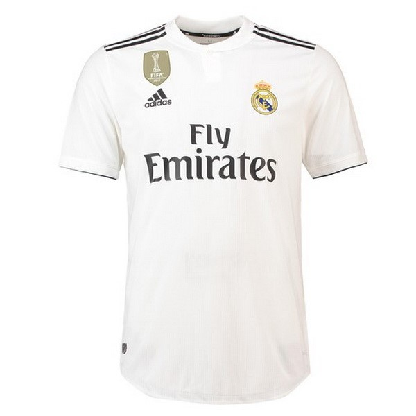 Maillot Real Madrid Domicile 2018-19 Blanc