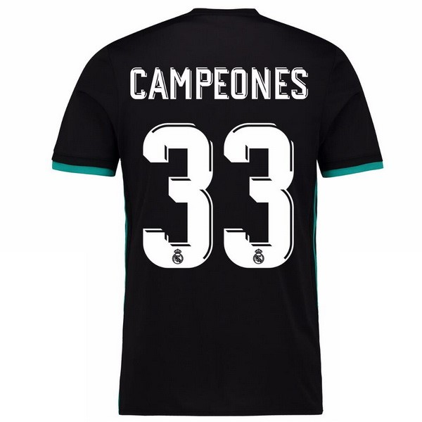 Maillot Real Madrid Exterieur Campeones 2017-18
