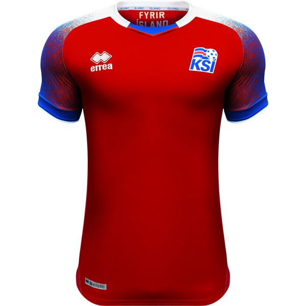 Maillot Islande Third 2018 Rouge