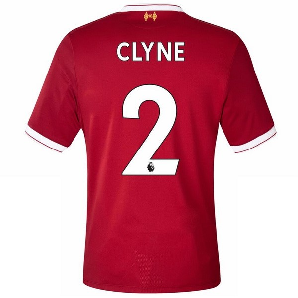 Maillot Liverpool Domicile Clyne 2017-18