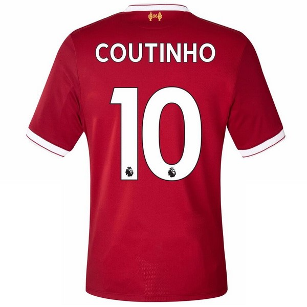 Maillot Liverpool Domicile Coutinho 2017-18