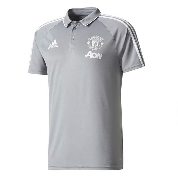 Polo Manchester United 2017-18 Gris