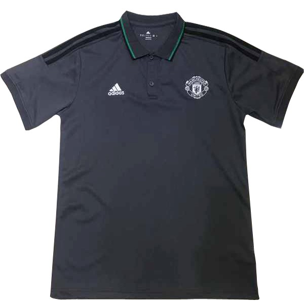Polo Manchester United 2017-18 Gris Marine