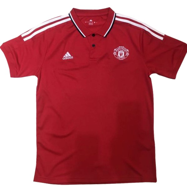 Polo Manchester United 2017-18 Rouge Blanc